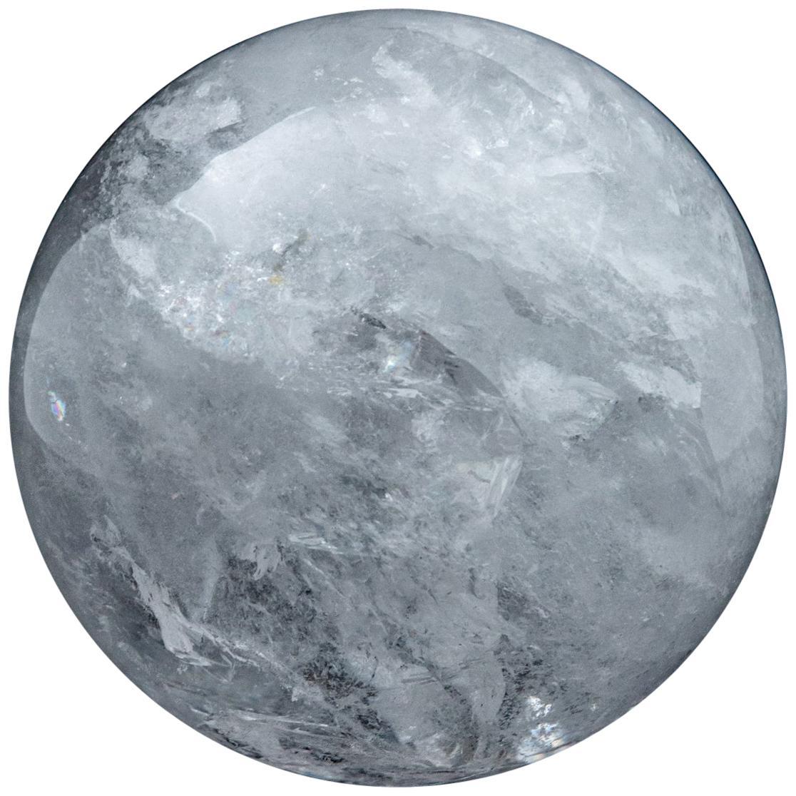 Gigantic Rock Crystal Sphere