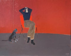 Red Chair and Hound