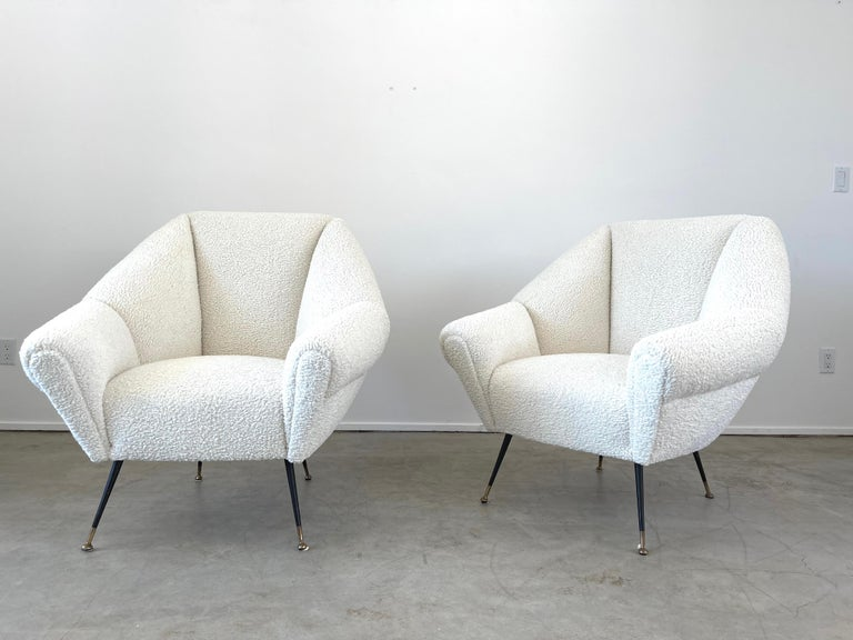 Mid-20th Century Gigi Radice Attributed Chairs For Sale