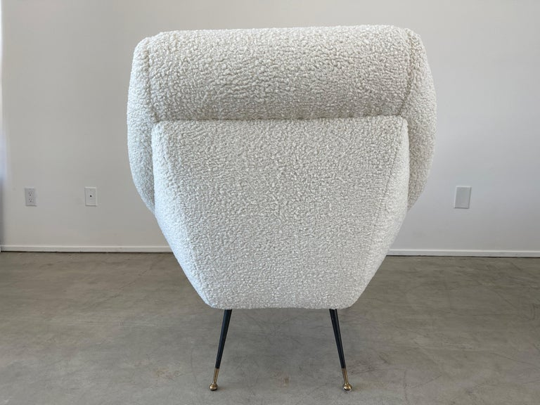 Wool Gigi Radice Attributed Chairs For Sale