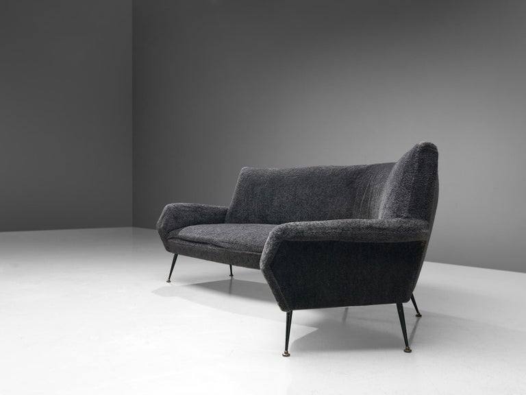 Italian Gigi Radice Curved Sofa for Minotti For Sale