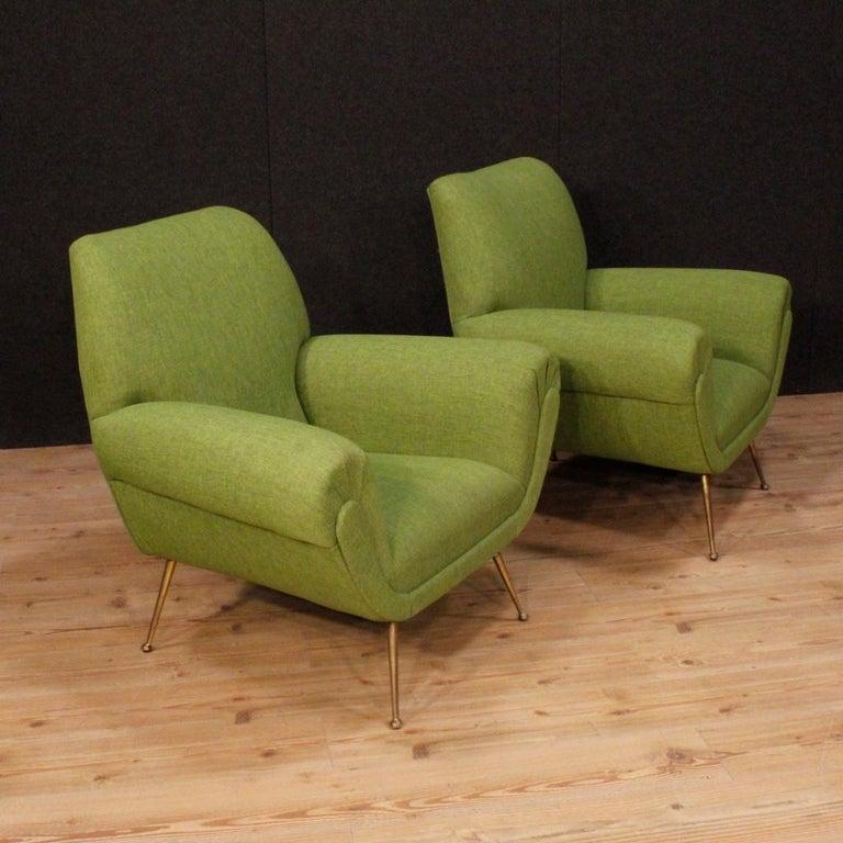 Gigi Radice For Minotti 20th Century Green Fabric Italian