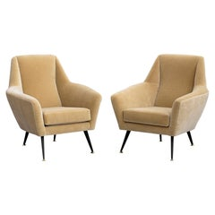 Gigi Radice for Minotti Attributed Armchairs
