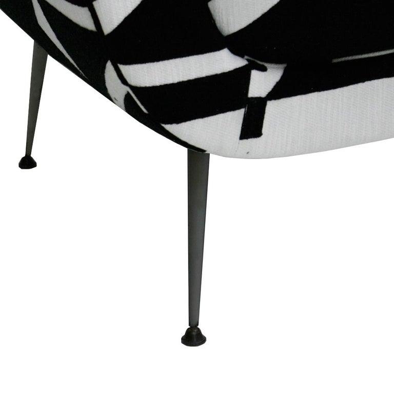 Gigi Radice for Minotti Mid-Century Modern Pair of Italian Armchairs, 1950s 5
