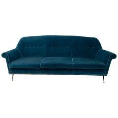 Gigi Radice Mid-Century Modern Italian Sofa for Minotti, 1950s