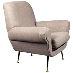 Gigi Radice Mid-Century Modern Lounge Chair, 1950s