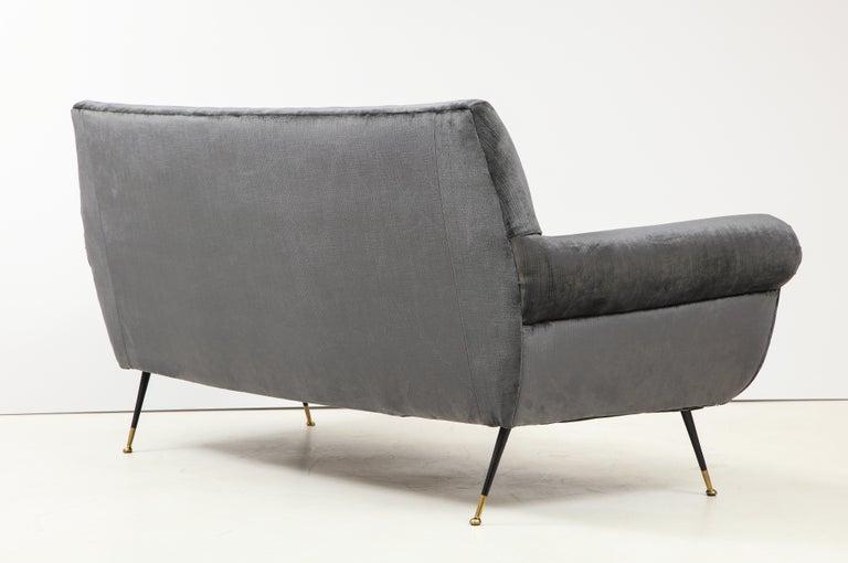 Gigi Radice Mid-Century Modern Velvet Sofa 2