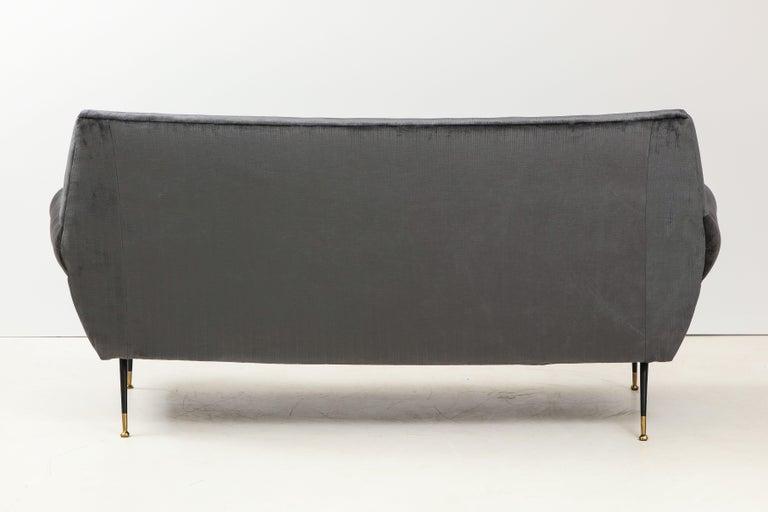 Gigi Radice Mid-Century Modern Velvet Sofa 3