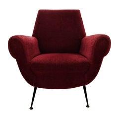 Gigi Radici Mid-Century Modern Lounge Chair