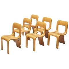 Gigi Sabadin Chairs in Plywood for Stilwood