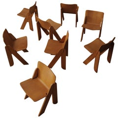 "Gigi Sabadin ""Peota"" Chairs for Stilwood, 1970, set of 8"