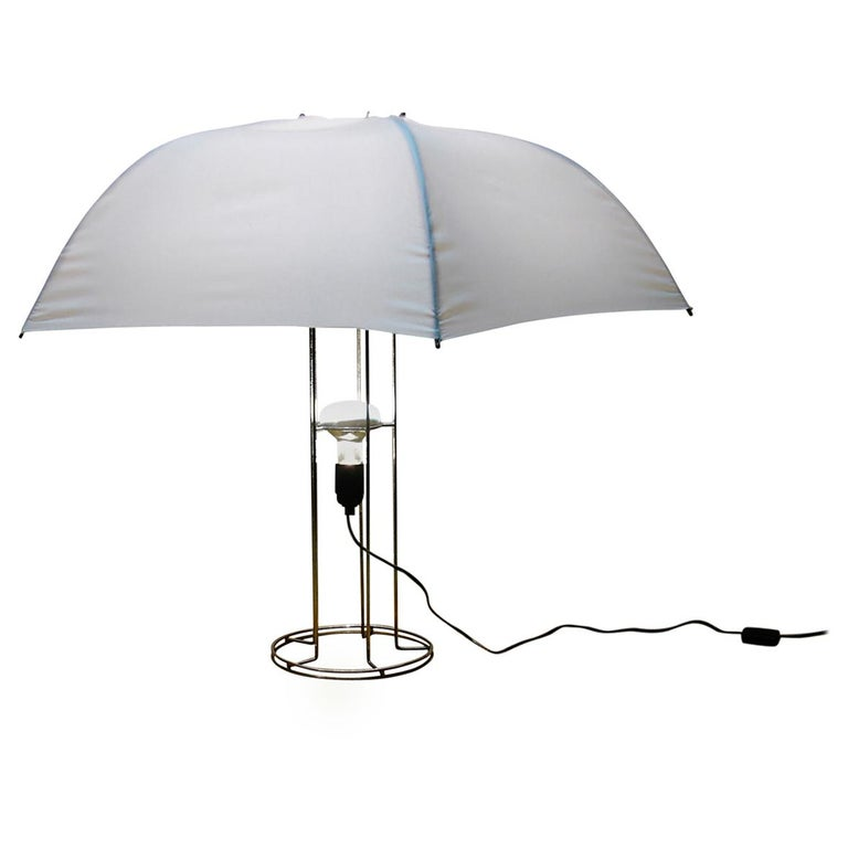 Gijs Bakker 'Umbrella' Lamp Midcentury Droog Design, 1970s For Sale
