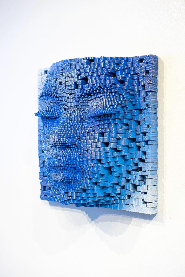 Mask #5 - Sculpture by Gil Bruvel
