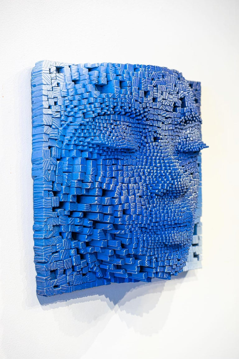 Mask #5 - Contemporary Sculpture by Gil Bruvel