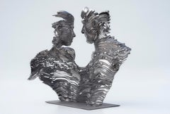 Never Ending - 21st Century, Contemporary, Figurative Sculpture, Stainless Steel