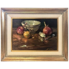 Gil DiCicco Original Signed Oil Painting Titled Still Life Number Nine