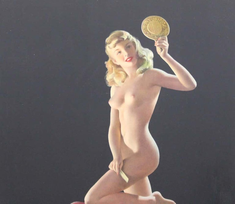 Nude Pin Up Girls Vintage Calendar Posters For Sale 6