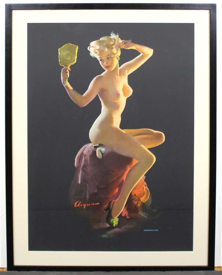 Nude Pin Up Girls Vintage Calendar Posters For Sale 2