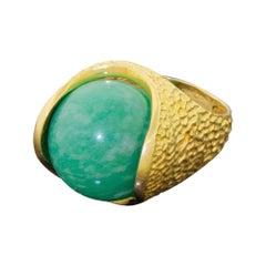 "Gilbert Albert 18 Karat Gold ""Lost My Marbles"" Interchangeable Ring, Set of 5"