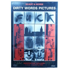 "Gilbert and George ""Dirty Words Pictures"" Signed by Gilbert and George 2002"