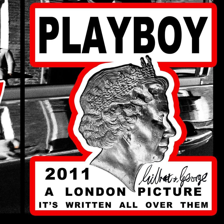 This group of works from Gilbert & George's 'London Series' are made up of newspaper posters, which were stolen/retrieved one by one by the artists themselves for more than 6 years, and then sorted and classified by them according to subject. This