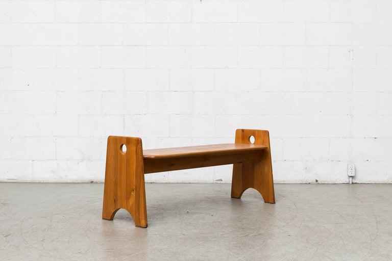 Swedish Gilbert Marklund Bench For Sale