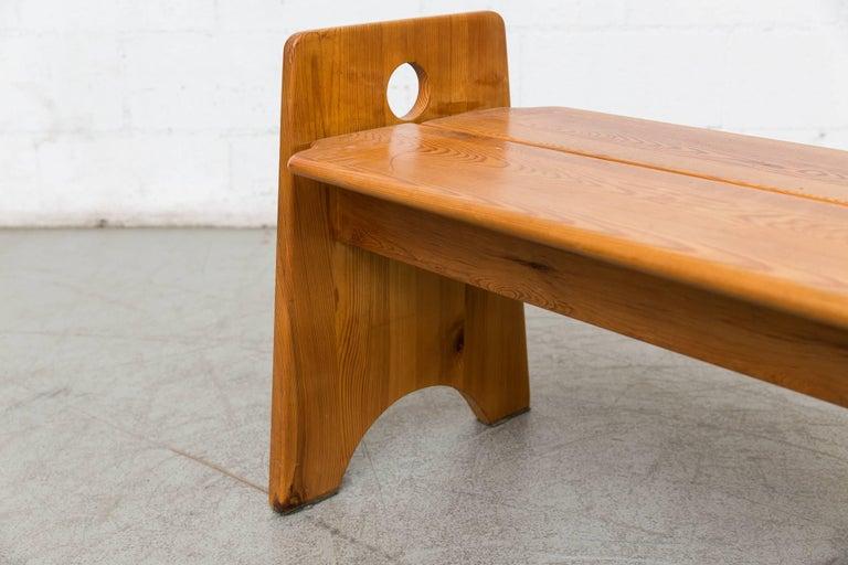 Mid-20th Century Gilbert Marklund Bench For Sale