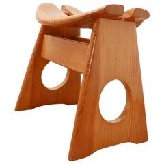 Gilbert Marklund Midcentury Design Low Swedish Stool