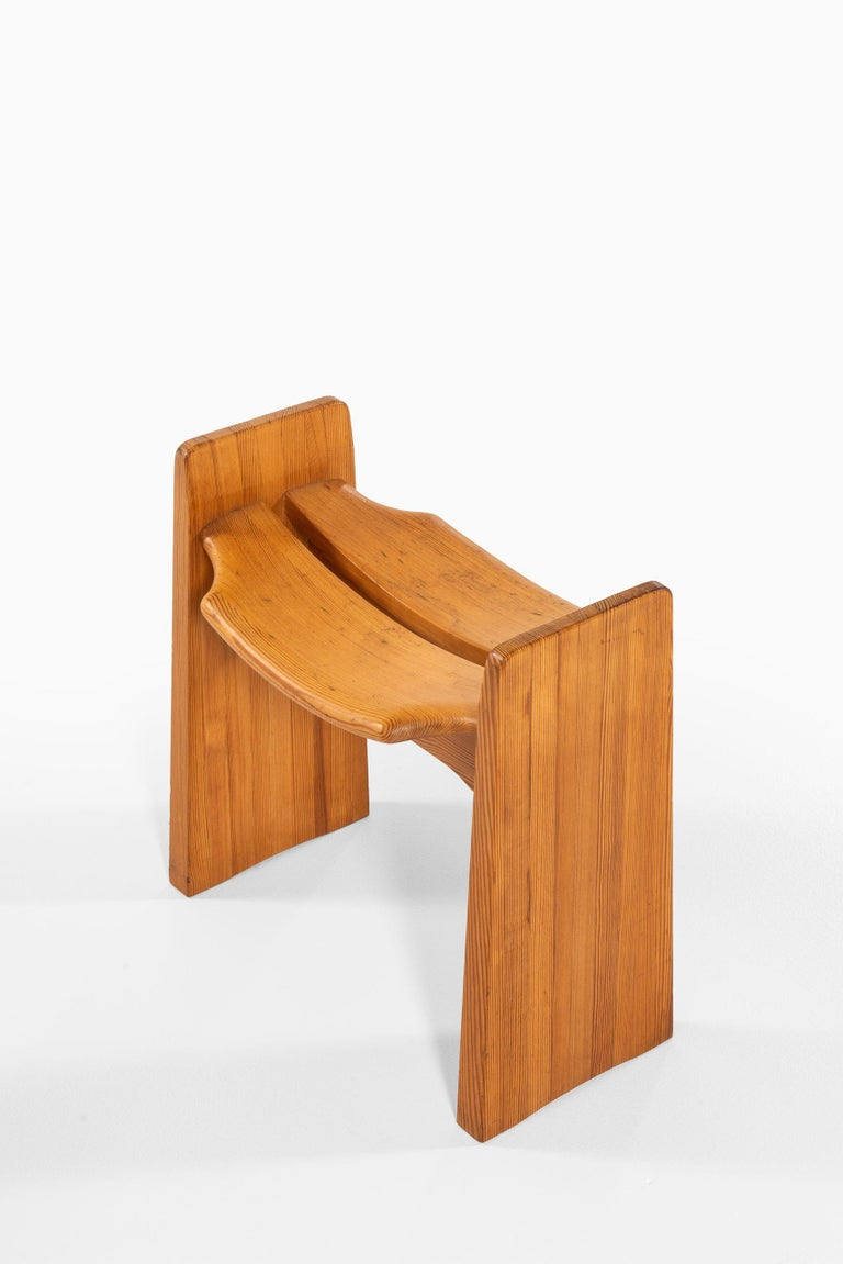 Pine Gilbert Marklund Stools Produced by Furusnickarn AB in Sweden For Sale