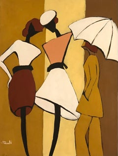 Le parapluie - The umbrella