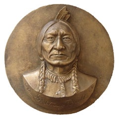 Sitting Bull - Original Signed Sculpture #Unique
