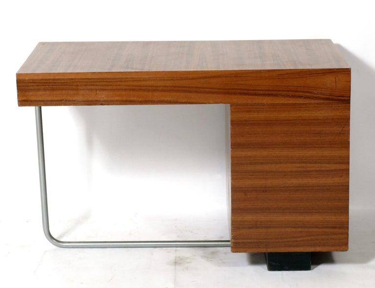 Metal Gilbert Rohde Art Deco Desk  For Sale