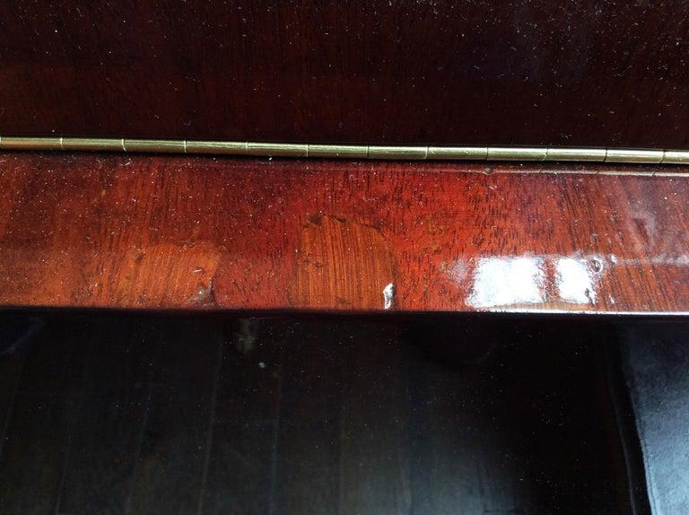 Gilbert Rohde Art Deco Oval Drop-Leaf Desk For Sale 3