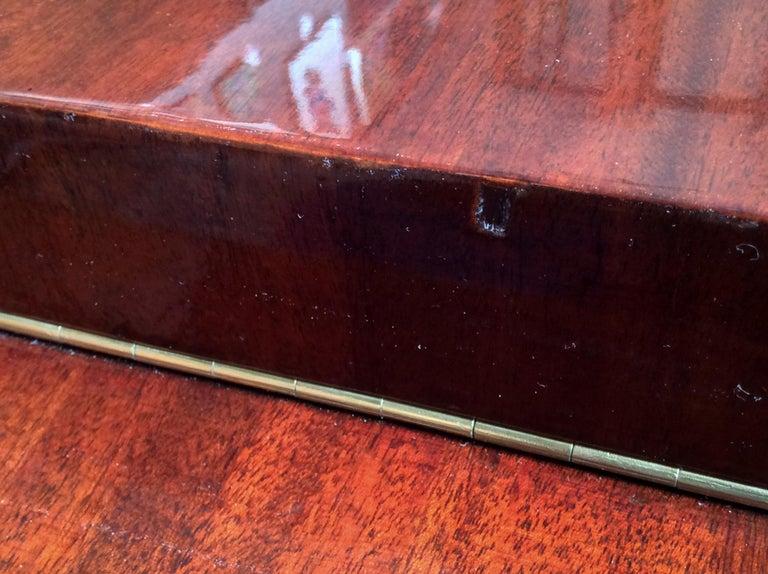 Gilbert Rohde Art Deco Oval Drop-Leaf Desk For Sale 4
