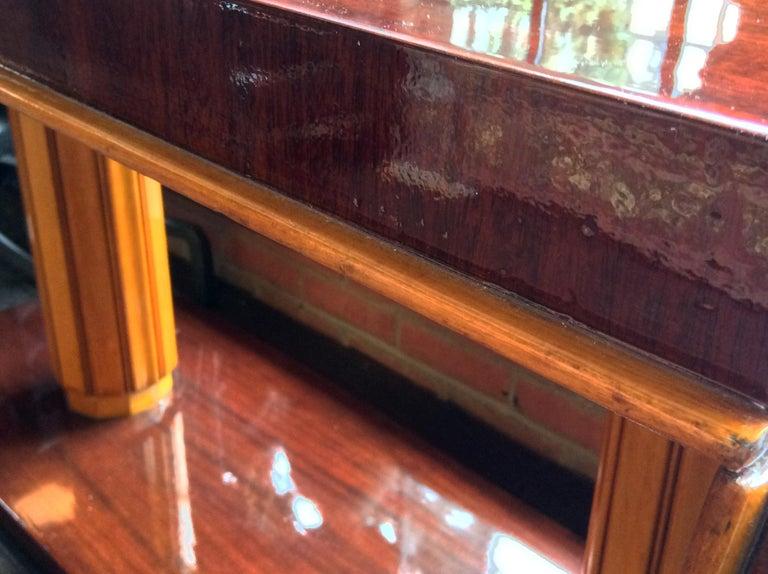 Gilbert Rohde Art Deco Oval Drop-Leaf Desk For Sale 5