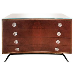 Gilbert Rohde Beautifully Crafted Chest of Drawers in India Rosewood, 1939