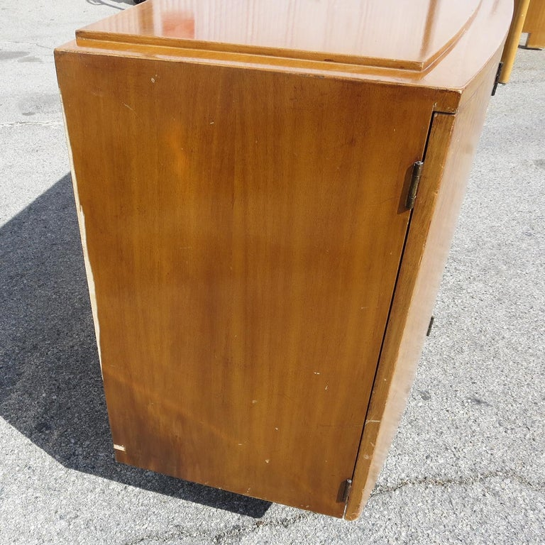 American Gilbert Rohde Buffet Cabinet for Herman Miller 1939 For Sale