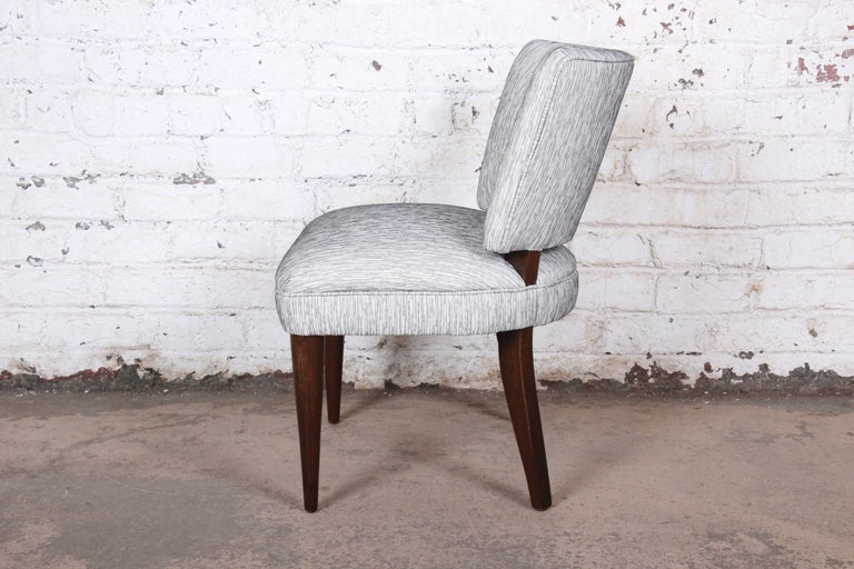 Mid-20th Century Gilbert Rohde for Herman Miller Art Deco Dining Chairs, Fully Restored For Sale