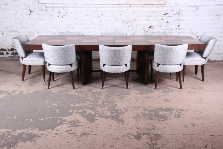 Gilbert Rohde for Herman Miller Art Deco Dining Chairs, Fully Restored For Sale 3