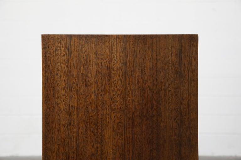 Gilbert Rohde for Herman Miller 'Paldao' Burl Dresser Cabinet, 1940s, Signed For Sale 12