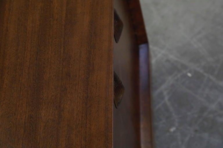 Gilbert Rohde for Herman Miller 'Paldao' Burl Dresser Cabinet, 1940s, Signed For Sale 13
