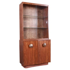 Gilbert Rohde for Herman Miller Paldao Group Bar Cabinet Hutch, Newly Restored