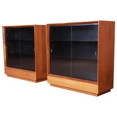 Gilbert Rohde for Herman Miller Paldao Group Bookcases, Newly Refinished