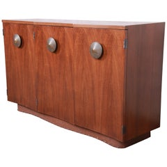 Gilbert Rohde for Herman Miller Paldao Sideboard or Bar Cabinet, Newly Restored