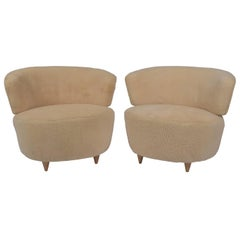 Gilbert Rohde Pair of Lounge Chairs Herman Miller, 1940