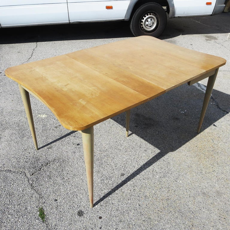 Gilbert Rohde Paldao Expanding Console Table In Good Condition For Sale In North Hollywood, CA