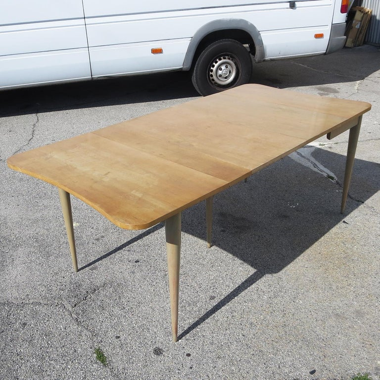 Mid-20th Century Gilbert Rohde Paldao Expanding Console Table For Sale