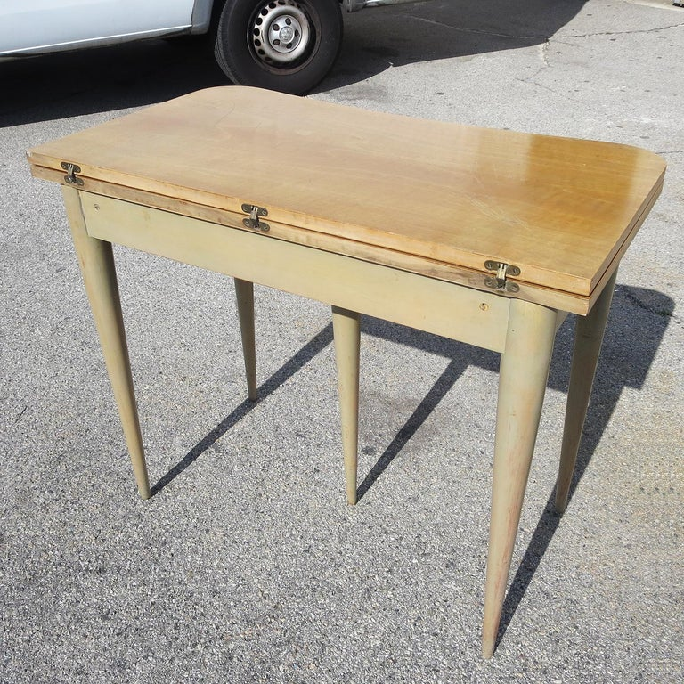 Gilbert Rohde Paldao Expanding Console Table For Sale 1