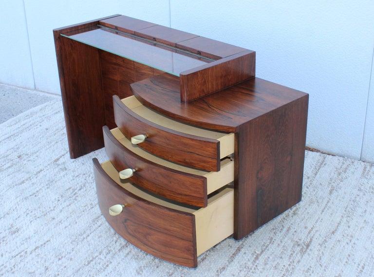 Gilbert Rohde Rosewood Vanity For Sale 6