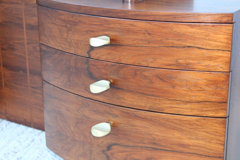 Gilbert Rohde Rosewood Vanity For Sale 11